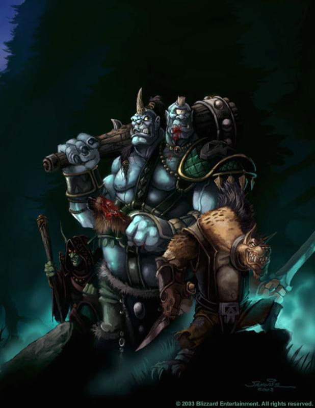 Орг Маг (Ogre Magi) из доты