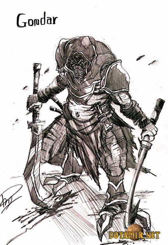 Гондар (Gondar) из доты