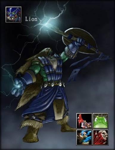 Лион (Lion) в доте