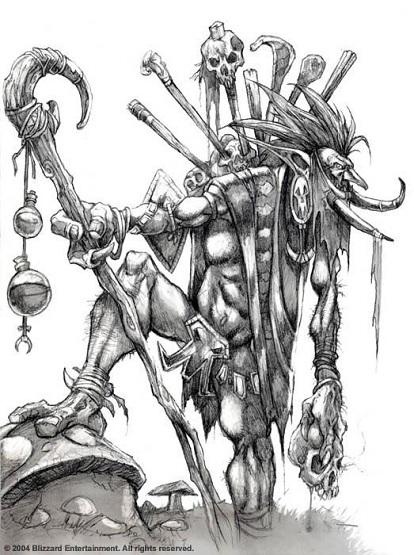 Вич Доктор (Witch Doctor) в доте
