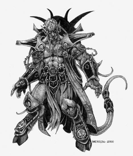 Эредар - ШД (Shadow Demon) в доте